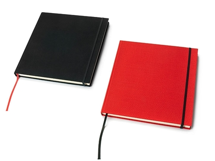 Sketchbook and Notebook red
